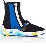 Prada Women's Colorblocked Neoprene Side-Zip Sneakers