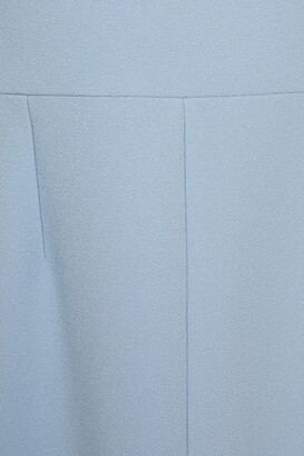 Roland Mouret Tikal Pleated Crepe Midi Dress