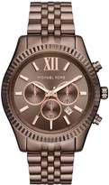 Michael Kors MK8522 Men's Lexington Sable Ion Plated St Steel Chronograph Watch