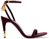 Tom Ford Suede Sandals - Plum