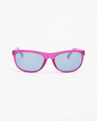 Le Specs Women's Pink Rectangle - Pirata - Size One Size at The Iconic