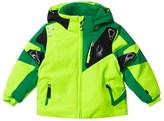 Spyder Green Mini Leader Ski Jacket