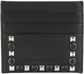 DSQUARED2 Dante studded credit card holder - men - Calf Leather - One Size