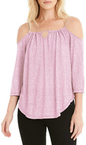 Michael Stars Pink Loose Top