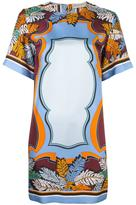 Emilio Pucci abstract print T-shirt dress - women - Silk - 44