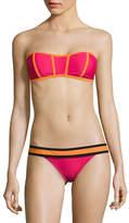 Design Lab Lord & Taylor Bando Bandeau Bikini Top