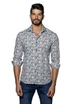 Jared Lang Mens Woven Long Sleeve Shirt.