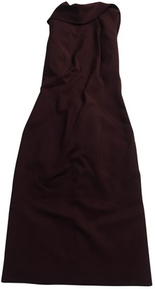 DSQUARED2 Purple Wool Dresses