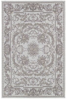 Jamison Astoria Grand Gray Area Rug Astoria Grand Rug Size: Rectangle 4' x 5'10""