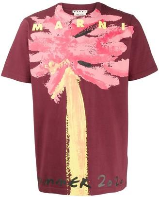 Marni abstract floral-print T-shirt