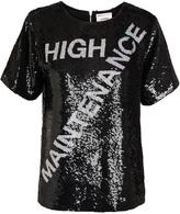 Ashish High Maintenance Sequin T-shirt