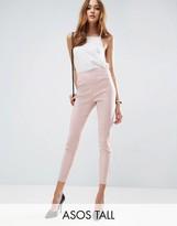 ASOS Tall ASOS TALL High Waisted Skinny Crop Pants