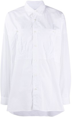 Closed x Societe Anonyme crinkled oversized shirt