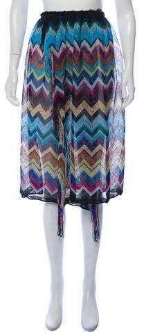 Missoni Chevron Cover-Up Skirt
