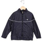 Armani Junior Boys' Lightweight Hooded Jacket