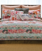 Tracy Porter Franny Reversible Floral Stripe Twin Quilt