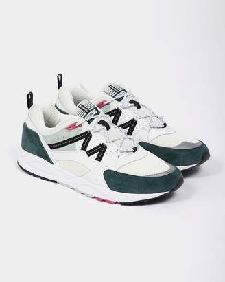 Karhu Fusion 2.0 Trainers Bright White and Posy Green