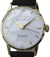 Seiko Marvel 18K Gold & Leather Manual Dial 33mm Mens Watch 1960