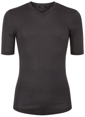 Hanro Thermal Silk-Cashmere T-Shirt