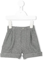 Il Gufo gathered detail shorts