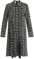 Marni Crinkle-print silk dress