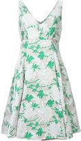 P.A.R.O.S.H. floral brocade dress