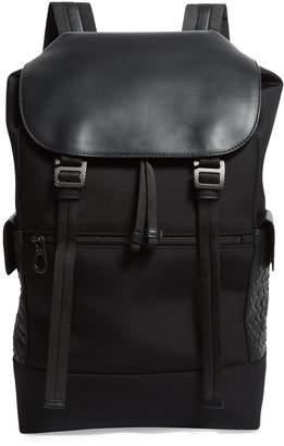 Bottega Veneta Canvas Backpack