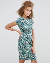 Sugarhill Boutique Serita Palm Floral Dress