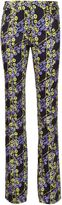 Giamba graphic floral print trousers
