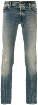 Diesel faded slim fit jeans jeans