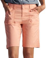 Lee Women's Beatrix Relaxed Fit Twill Bermuda Shorts