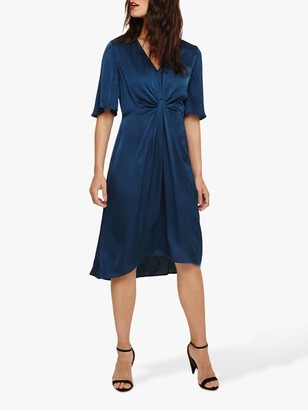 Phase Eight Rosina Fluted Knot Midi Dress