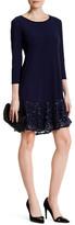 Marina Lace Hem Dress