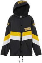 PINK University of Iowa Sherpa-lined Coaches Jacket