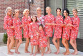 Etsy Bridesmaid Robes -Floral Cotton Robes -Getting Ready Robes -Bridal Party -Kimono Robe***Discount for