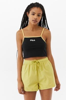 Fila Aisha Y2K Black Vest - Black XS at Urban Outfitters