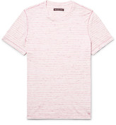 Michael Kors - Slim-fit Space-dyed Knitted Cotton T-shirt