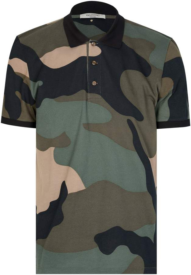 407abe18 Camo Polo Shirt - ShopStyle UK