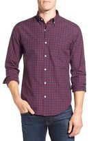 Bonobos Men's 'Wooden' Slim Fit Check Sport Shirt