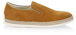 Saks Fifth Avenue Suede Loafers
