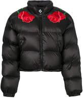 Marcelo Burlon County of Milan appliqué detail padded jacket