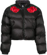 Marcelo Burlon County of Milan appliqué detail padded jacket