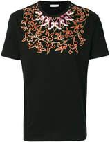 Versace collar print T-shirt