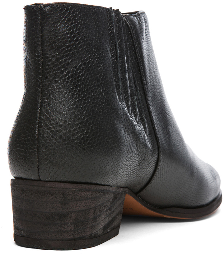 Rachel Comey Coy Leather Bootie in Black