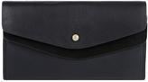 Accessorize Katie Double Flap Leather Wallet