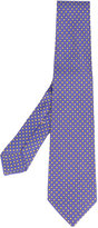Kiton square print tie