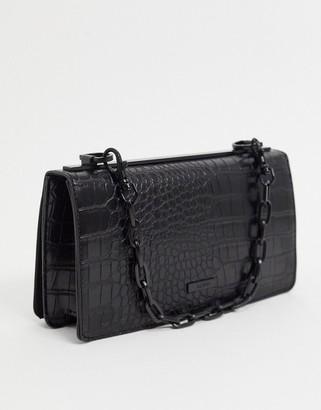 Aldo dabouca bag with chain strap in black