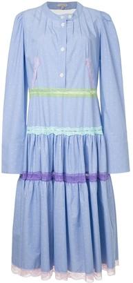 Natasha Zinko Pleated Shirt Dress