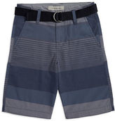 Calvin Klein Jeans Boys 8-20 Boys Striped Cotton-Blend Shorts
