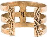Pamela Love Bronze Vine Cross Cuff
